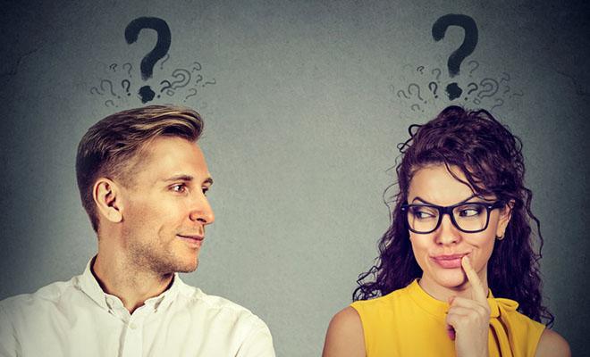 мужчина и женщина знакомство