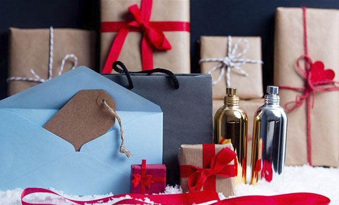 подарки в упаковке