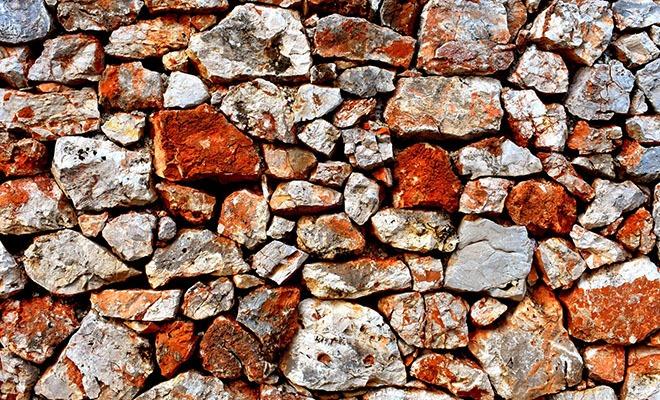 камни оранжевого цвета