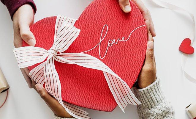 подарок от любимого человека