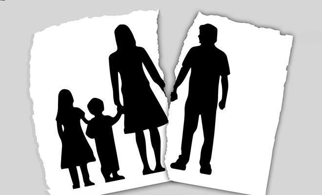 развод дети с матерью