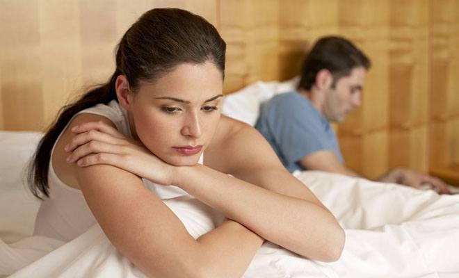 жена и муж в ссоре