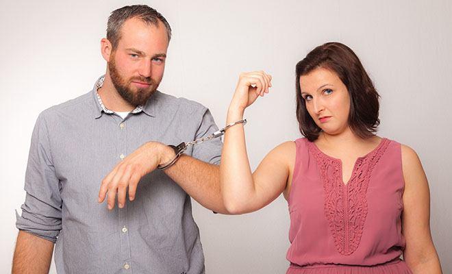 муж и жена связаны