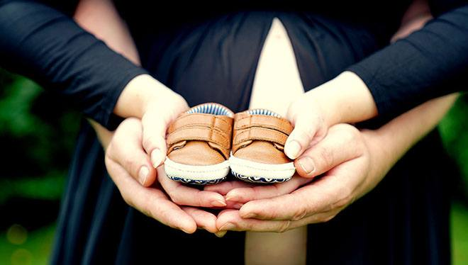 семья беременная